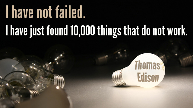 10 Quotes that will prove you that failures are stepping stone to success Inspiring Quotes
