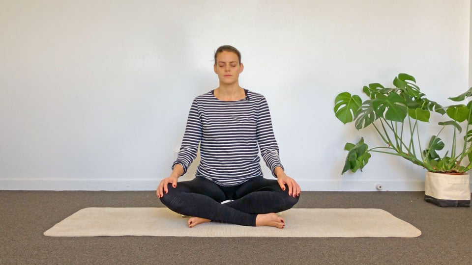 Yoga class: Yoga for Anxiety (short)