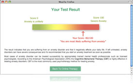 Panic Attack Test Online